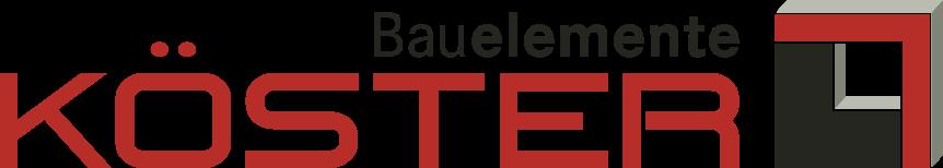 Bauelemente Köster Logo